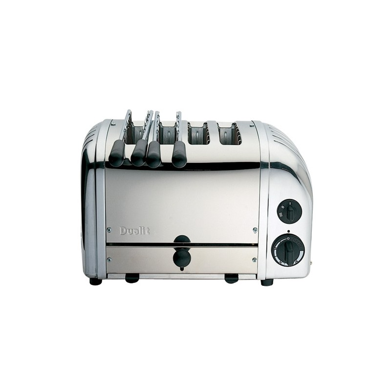 dualit vario toaster grille pain inox 4 tranches les. Black Bedroom Furniture Sets. Home Design Ideas