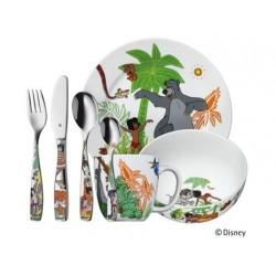Livre de la jungle Set Enfants 7 pcs  - WMF