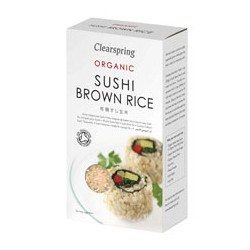 Riz Brun pour Sushi 500 gr - Clearspring