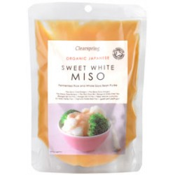 Sweet White Shiro Miso 250 g - Clearspring