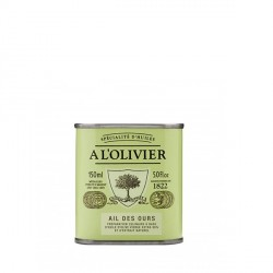 Huile d'Olive à l'Ail des Ours 150 ml - A l'Olivier