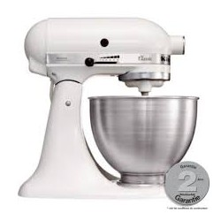 Classic Mixer-Keukenrobot 5K45SS wit - KitchenAid