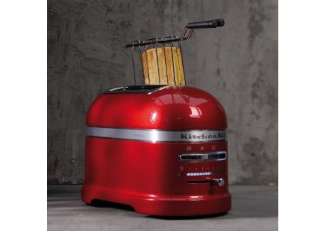 kitchenaid grille pain 2 tranches artisan rouge pomme d 39 amour 5kmt2204 les secrets du chef. Black Bedroom Furniture Sets. Home Design Ideas