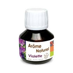 Arome Naturel Violette 50 ml - Scrapcooking
