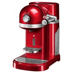 Machine à café Artisan Nespresso Rouge Empire  - KitchenAid
