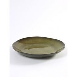 Pascale Naessens Pure Serveerschaal Rond 32 cm Groen - Serax