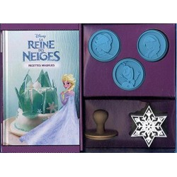 Coffret Frozen Recettes Magiques de la Reine des Neiges  - Hachette