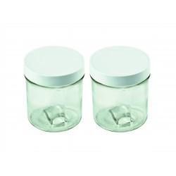 Set 2 pots faisselle Yaourtière 230 ml