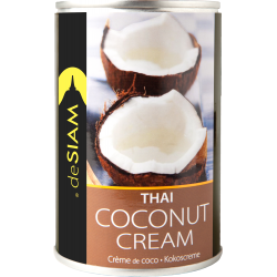 Coconut Cream 400 ml - De Siam