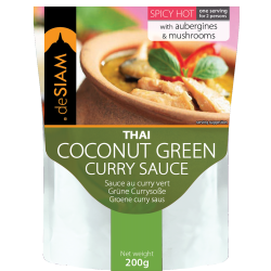 Green Curry Sauce 200g - De Siam