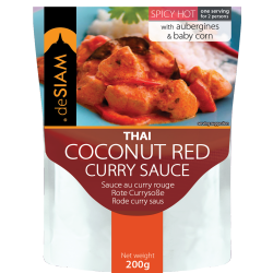 Red Curry Sauce 200g - De Siam