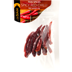 Spicy Red Chilli Piment Rouge Epicé 6g - De Siam