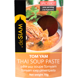 Tom Yam Curry Paste 70g - De Siam
