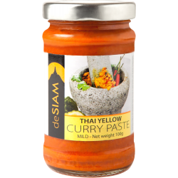 Yellow Curry Paste 200g - De Siam