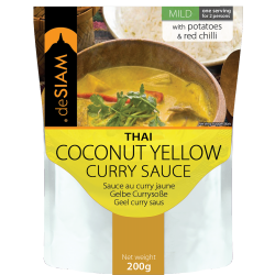 Yellow Curry Sauce 200g - De Siam
