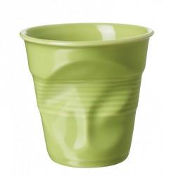 Gobelet Froissé Cappuccino 18 cl Vert Verveine - Revol