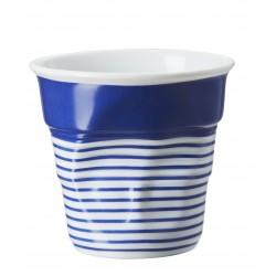 Gobelet Froissé Cappuccino 18 cl Grand Large Bleu  - Revol