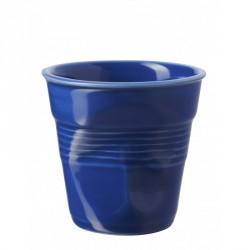 Gobelet Froissé Cappuccino 18 cl Bleu K  - Revol