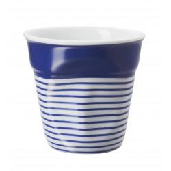Gobelet Froissé Espresso Grand Large Bleu  - Revol