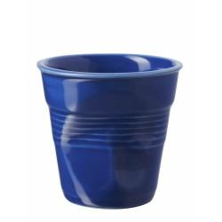 Gobelet Froissé Espresso 8 cl Bleu K  - Revol