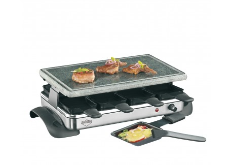 Hot Stone Exclusive Raclette Apparaat (8 pers) - Kuchenprofi