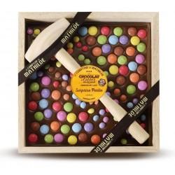 Chocolat à Casser Lait Surprise Partie 400g  - Comptoir de Mathilde