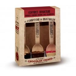 3 Hot Chocolate Douceur Box 3x30g - Comptoir de Mathilde