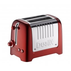 Lite Toaster Rouge 2 tranches - Dualit
