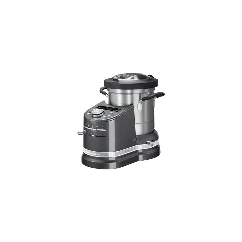 kitchenaid cook processor artisan 5kcf0103 gris etain les secrets du chef. Black Bedroom Furniture Sets. Home Design Ideas
