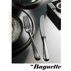Baguette Set de couverts 24 pcs Stone Washed  - Pintinox
