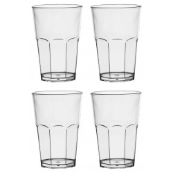 Set 4 gobelets Clear - Italesse