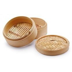 Panier à Vapeur en Bambou 2 pcs  - Ken Hom