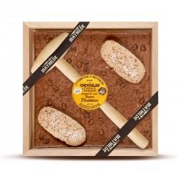 Melk Chocolade Tiramisu met Hamer 400g  - Comptoir de Mathilde