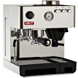 Anita RVS Espressomachine met bonenmolen PL042EMI - Lelit