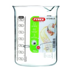 Kitchen Lab Pot Mesureur en Verre 750 ml - Pyrex