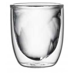 Set 2 Dubbelwandige Glazen Fire 75 ml - QDO