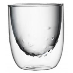 Set 2 Dubbelwandige Glazen Water 210 ml - QDO