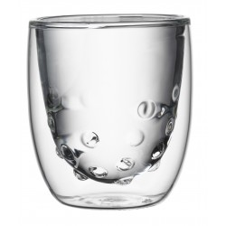 Set 2 Dubbelwandige Glazen Water 75 ml - QDO
