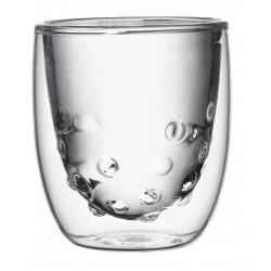 Set de 2 Verres Double Paroi Water 75 ml  - QDO