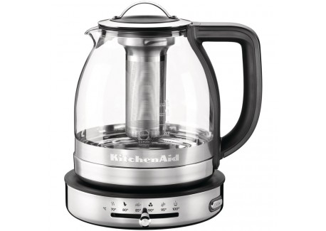 Elektischewaterkoker en teepot 2in1 glass 1.5 L 5KEK1322SS - KitchenAid