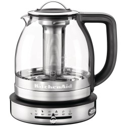 Elektischewaterkoker en teepot 2in1 glass 1.5 L - KitchenAid