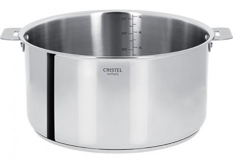 Casteline Kookpot 26 cm Verwijderbare Handvatten - Cristel
