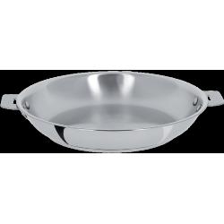 Casteline Pan 24 cm Verwijderbare Handvatten - Cristel
