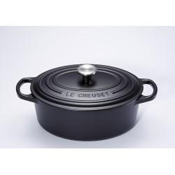 Cocotte Signature Ovale 0.9 l Noir Mat (17 cm)  - Le Creuset