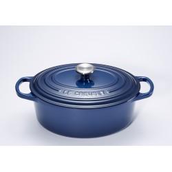 Cocotte Signature Ovale 4.1 l Bleu Encre (27 cm)  - Le Creuset