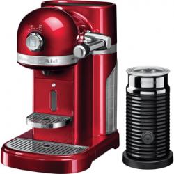 Machine à café Artisan Nespresso Pomme d'Amour + Pot a Lait 5KES0504 - KitchenAid
