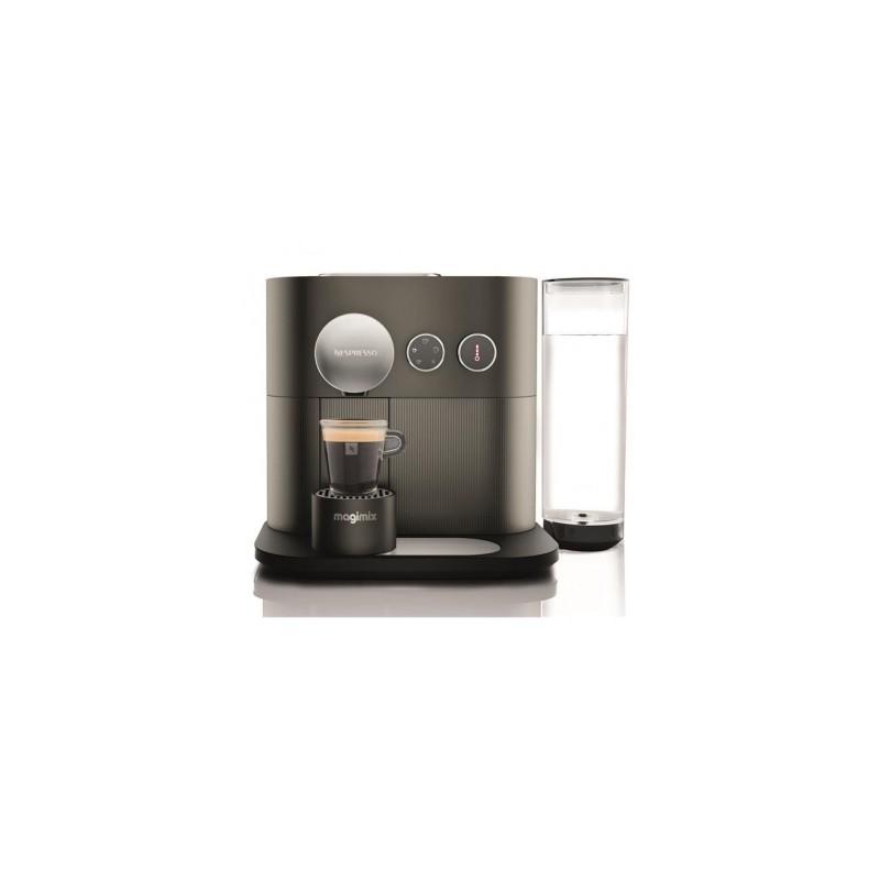magimix m500 expert milk nespresso antracietgrijs les secrets du chef. Black Bedroom Furniture Sets. Home Design Ideas
