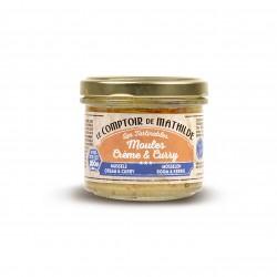 Moules Crème et Curry 100 g  - Comptoir de Mathilde