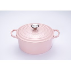 Signature Ronde Stoofpot 4.2 l Chiffon Pink (24 cm) - Le Creuset