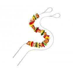 BBQ Brochette pour Grillade Flexible 2 pcs  - Kuchenprofi